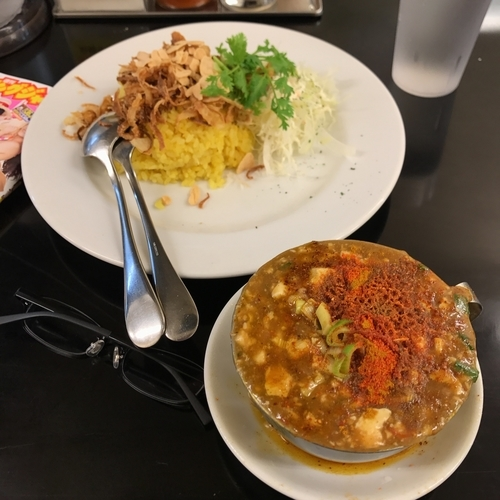 「麻婆咖喱⑤⑥⑩」@カレーは飲み物。秋葉原店の写真