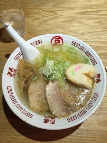 「塩ラーメン」@新函館ラーメン マメさんの写真
