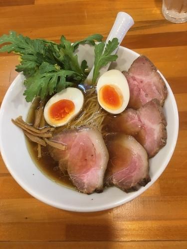 「醤油ラーメン トッピング得製」@極汁美麺 umamiの写真