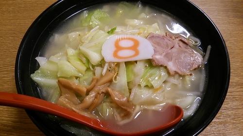「野菜ラーメン(塩)」@8番らーめん 金沢駅店の写真