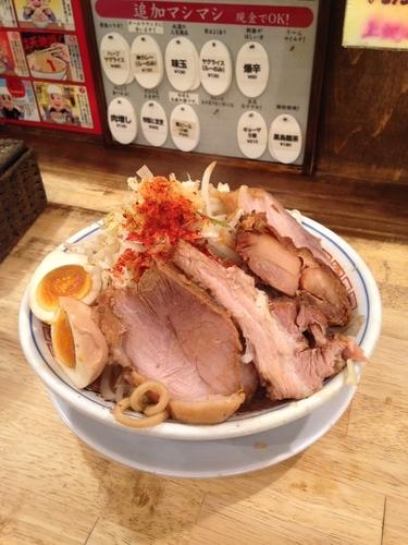 「GOD麺(980円) チャーシューマシ(クーポン)」@麺屋 神やぐらの写真