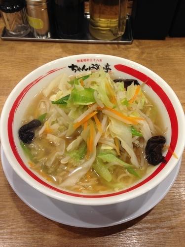 「近江ちゃんぽん  野菜1日盛り」@ちゃんぽん亭総本家 本店の写真