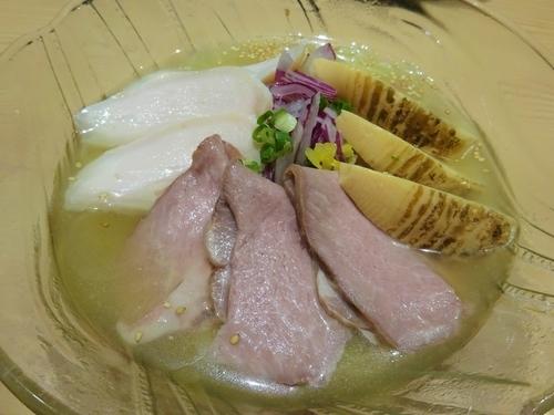 「真夏のひらめ冷涼麺  880円」@京紫灯花繚乱の写真