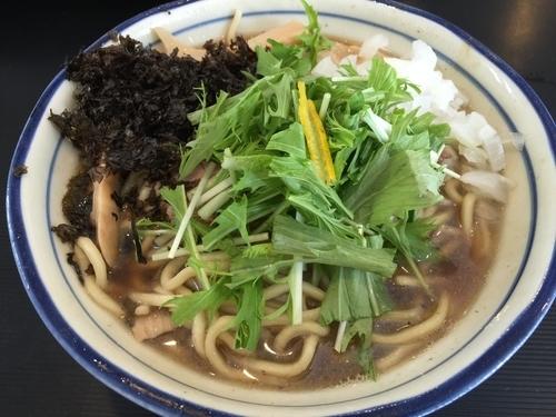 「【限定】濃厚煮干拉麺」@拉麺 阿吽の写真