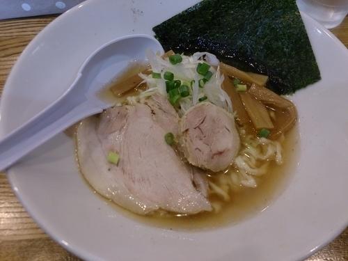 「鶏清湯の自家製麺」@めんごころ なつの写真