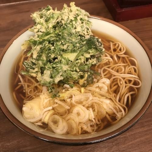 「春菊(¥380)」@船堀そば 文殊の写真