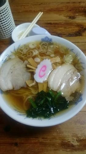 「ラーメン  680円」@佐野ラーメン 飛龍の写真