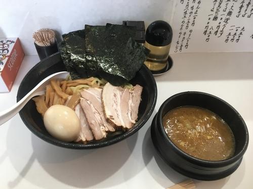 「濃厚魚介つけ麺」@麺匠 白金の写真