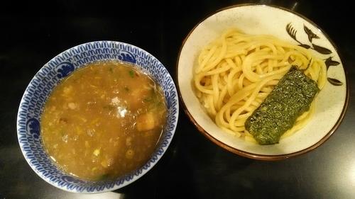 「つけ麺Wスープ200g780円」@無鉄砲 つけ麺 無心の写真