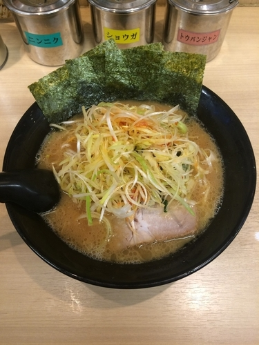 「ネギラーメン 712円」@せい家 柏店の写真