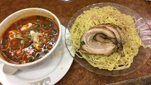「四川風担々麺つけ麺」@時ちゃんラーメンの写真