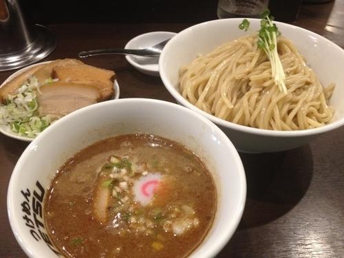 「つけめん(大盛)肉増し」@つけめん102 川口店の写真