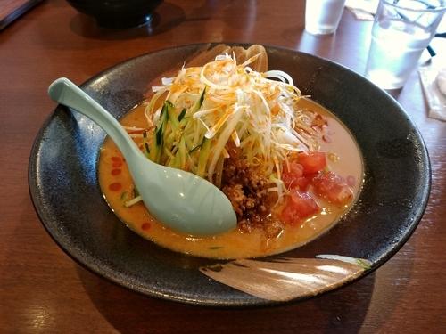 「冷やしタンタン麺(大盛・240g)853円」@麺場 田所商店 高崎店の写真