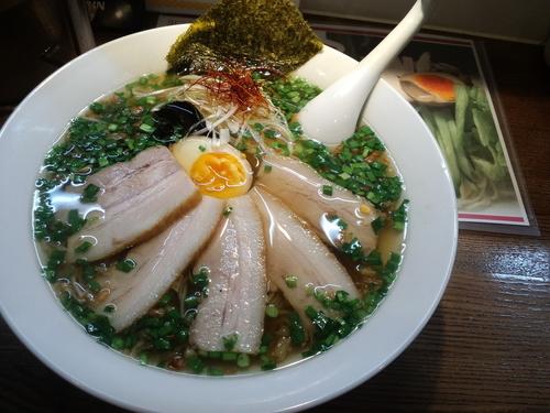 「自家製チャーシュー麺1000円」@麺屋 502の写真
