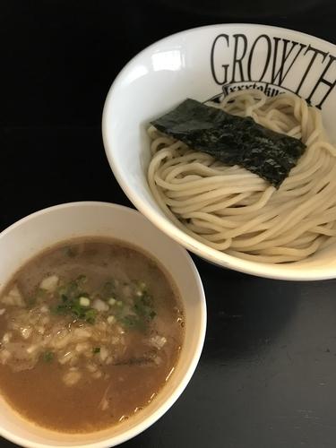 「つけ麺(中)¥770」@麺処GROWTHの写真