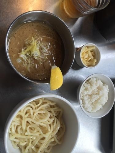 「レモンつけ麺」@フジヤマ55 KOFUバイパス店の写真