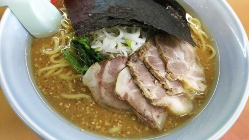 「味噌チャーシュー麺 大盛り」@山岡家 谷田部店の写真
