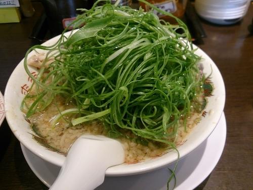 「数量限定 葱ラーメン 太麺」@来来亭 塩尻店の写真