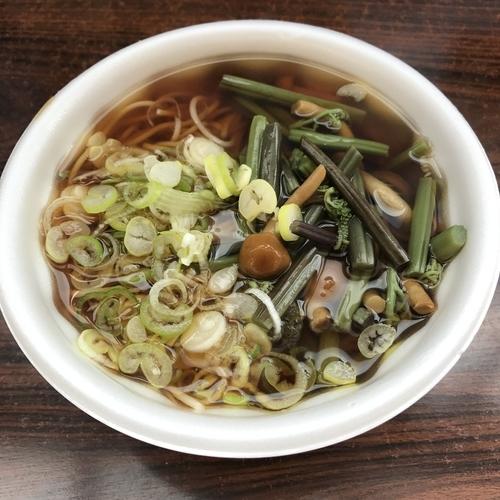 「山菜(¥520)」@米の粉の滝ドライブインの写真