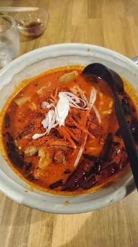 「鬼ヶ島みそラーメン」@麺や 松の写真