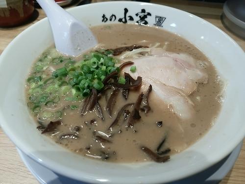 「ラーメン」@豚骨麺 あの小宮の写真