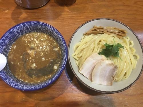 「特濃 煮干しつけ麺」@麺や百日紅の写真