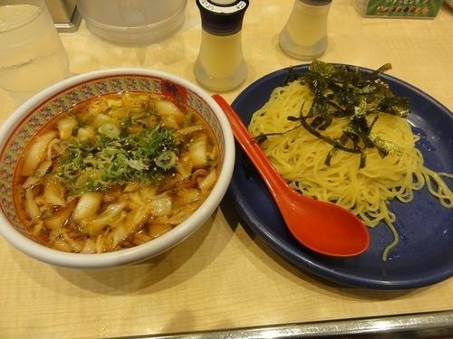 「つけ麺 730円」@どうとんぼり神座 渋谷店の写真