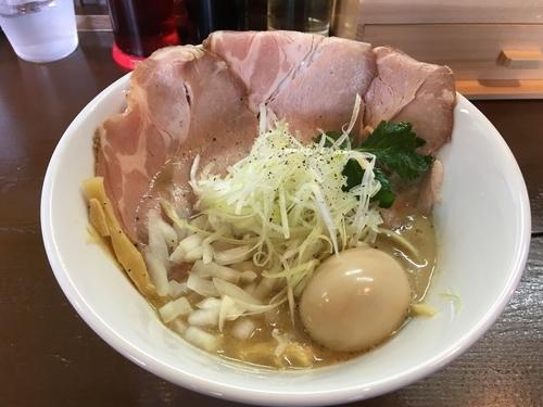 「鶏白湯ラーメン並 醤油750」@麺屋キラメキ 京都三条 綾部安国寺店の写真