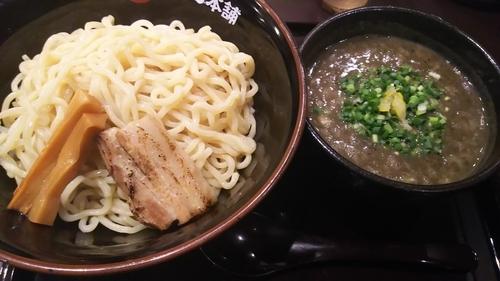 「極濃煮干しつけ麺 大盛り」@極煮干し本舗 荒川沖店の写真