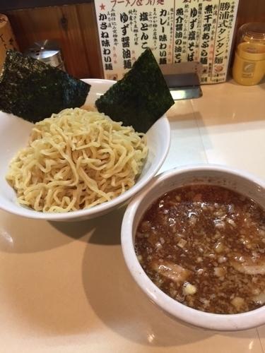 「三刀流かさね味わい麺(つけ) 750円」@麺屋 賢太郎の写真