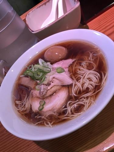 「味玉チャーシュー麺」@らーめん芝浜の写真