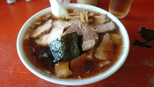 「チャーシュー麺大盛り」@幸楽の写真