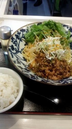 「汁なし担々麺(おや シビレレベル6)850円」@麺屋 大申 神保町店の写真