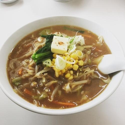 「味噌バターラーメン」@山口食堂の写真