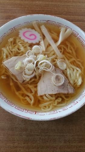 「中華そば」@食堂なまえの写真