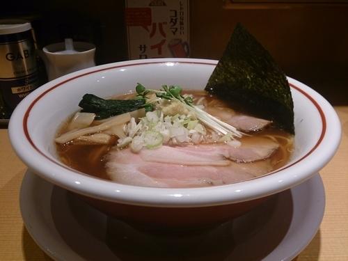 「生姜醤油ラーメン」@新潟らぁ麺専門店 我武者羅の写真