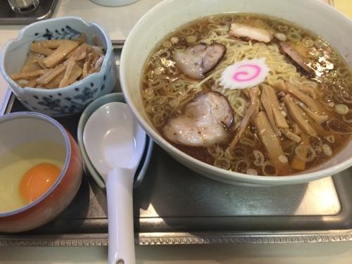「中華麺(玉子+メンマ)」@永福町大勝軒の写真