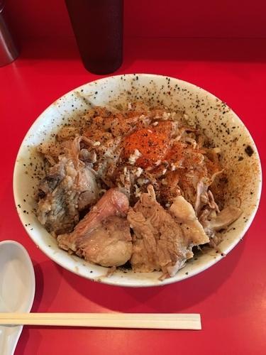 「汁なしラーメン」@ラーメン 池田屋 京都店の写真