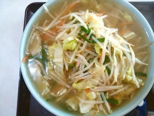 「タンメン」@洋食中華 エチゴヤの写真