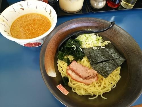 「しょうゆつけ麺 (中盛(1.5玉))」@ラーメンショップ横綱の写真