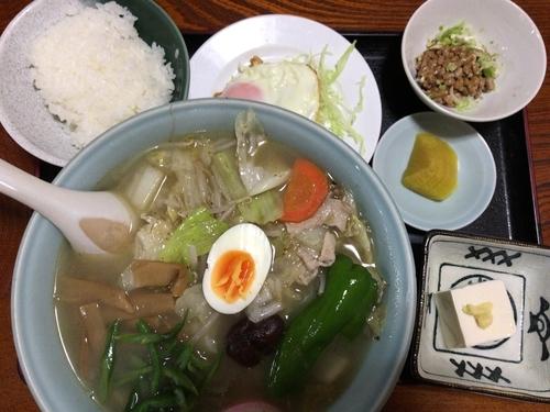 「五目タンメン780円」@たからや食堂の写真