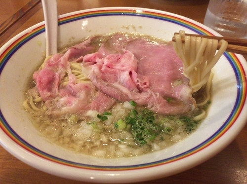 「煮干しラーメン(800円)」@ラーメン暁(^^)の写真