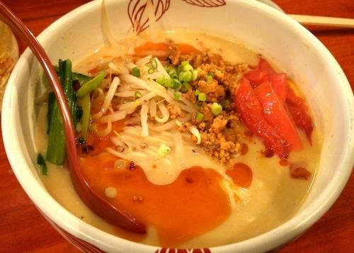「【限定】冷やしベジ担々麺2種(ノーマル+暖かい塩Ver)」@麺処 あす花の写真
