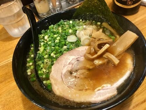 「煮干し醤油」@北海道ラーメン 月形の写真
