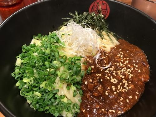 「ジャージャー麺」@油ソバ専門店 山ト天 東京スクエアガーデン店の写真