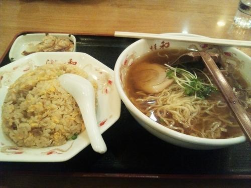 「ラーメン・チャーハンセット」@中華料理 和の写真
