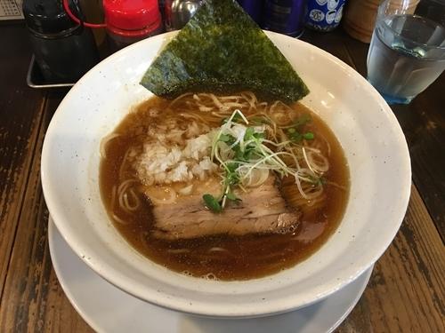 「煮干の宴(大盛)」@麺蔵 もみじの写真
