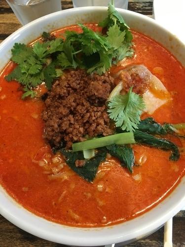 「たんや特製担々麺(辛口)」@麺・飯場 たんやの写真