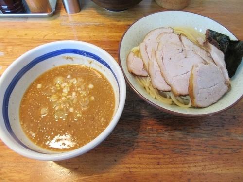 「味噌チャーシューつけ麺(1050円)」@大勝軒 佐貫店の写真
