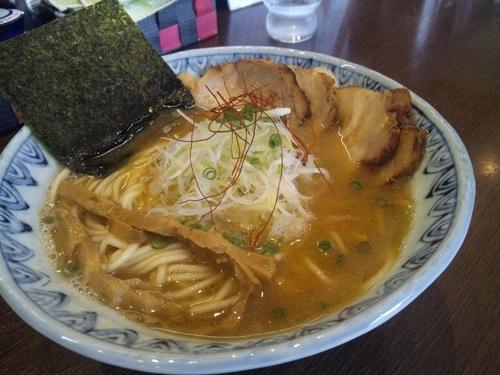 「あごそば」@麺屋蕪村 上田店の写真